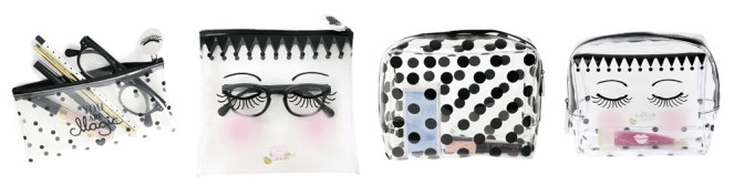 Miss Etoile Travel Cosmetic Bags