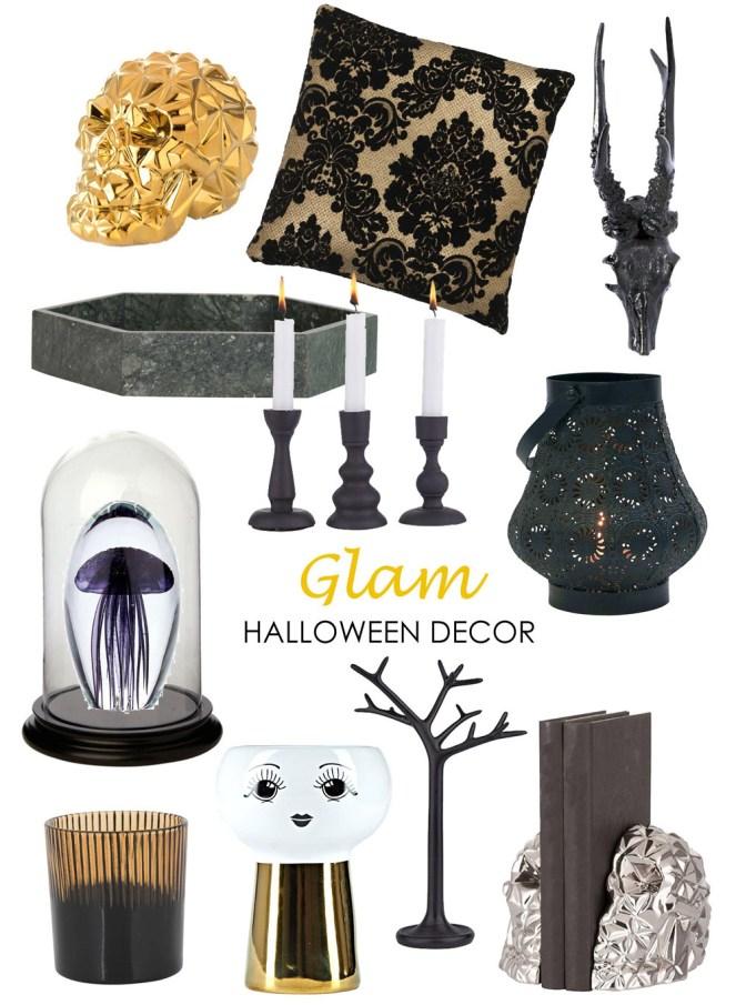 Glam Halloween Product Board