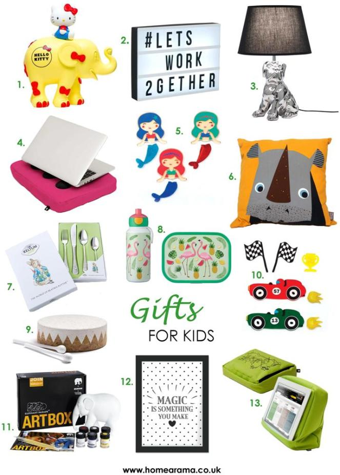 Gifts for Kids Products 2018