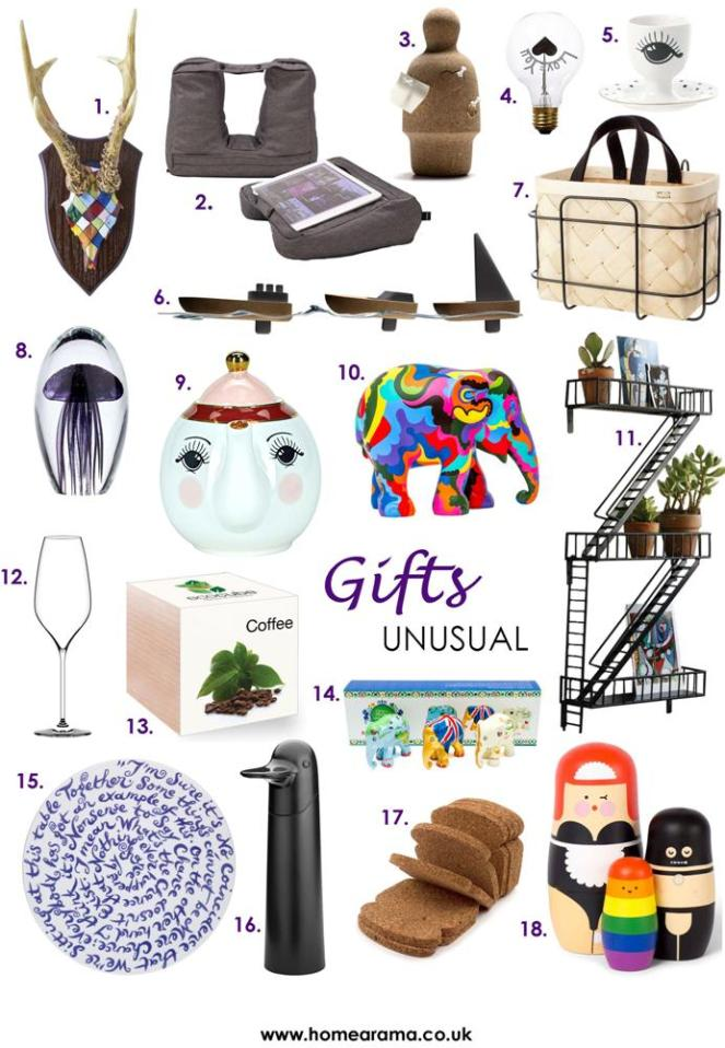 Unusual Gifts Products 2018