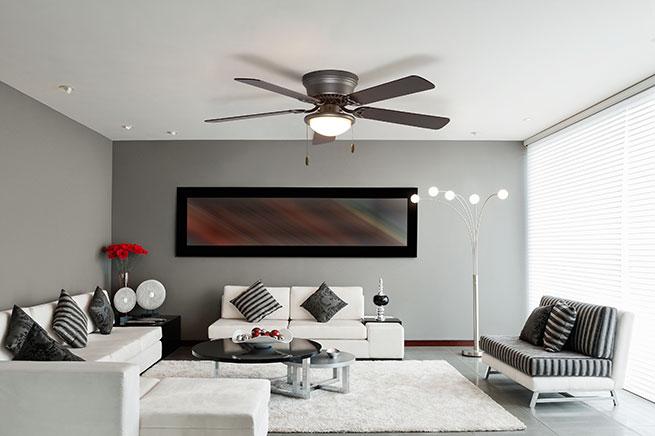 Conoce las nuevas tendencias en ventiladores de techo