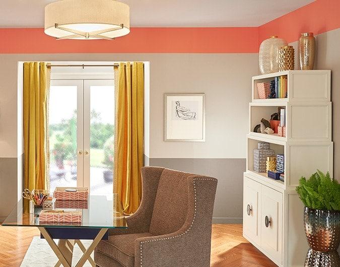 Ideas para decorar con pintura  The Home Depot Blog