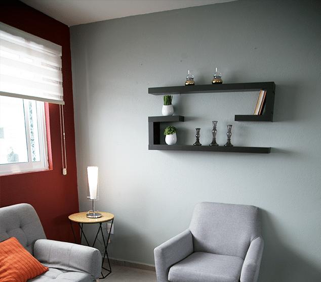 Variedad de repisas para organizar y decorar  The Home