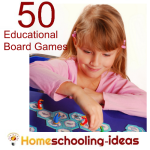 50 Educational Board Games for Homeschooling