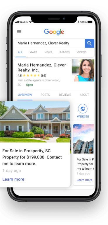 Homesnap Pro+ Google business profile verification
