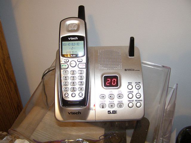 cordless phone phantom power