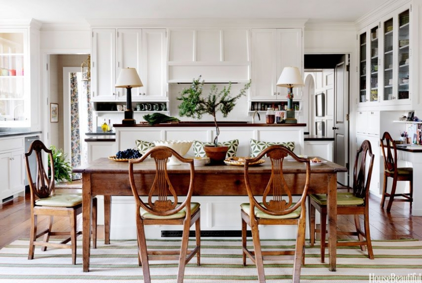 table lamps used in kitchen