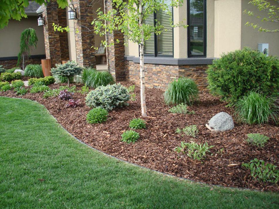 mulch easy lawn maintenance