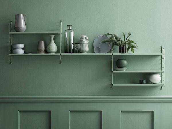 tone on tone design shelf