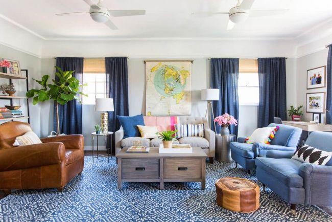spring clean fresh clean home clean living room