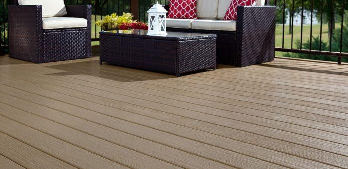 pvc deck material