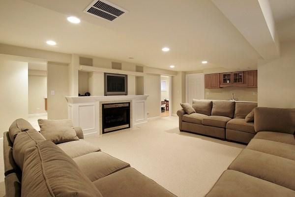 carpet basement flooring