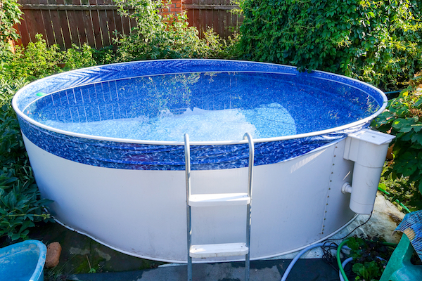small above ground pool benefits of an above ground pool