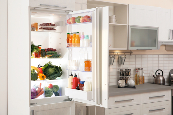 fridge dirtiest places in kitchen