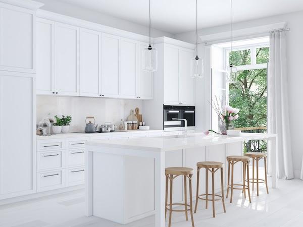 kitchen renovation in spring