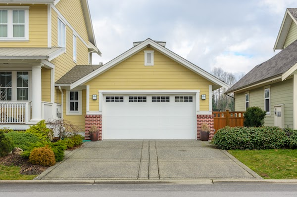 clean garage doors easy curb appeal updates for spring