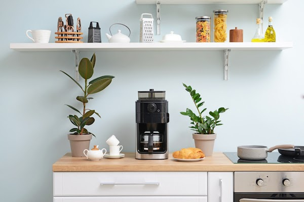 coffee station at home