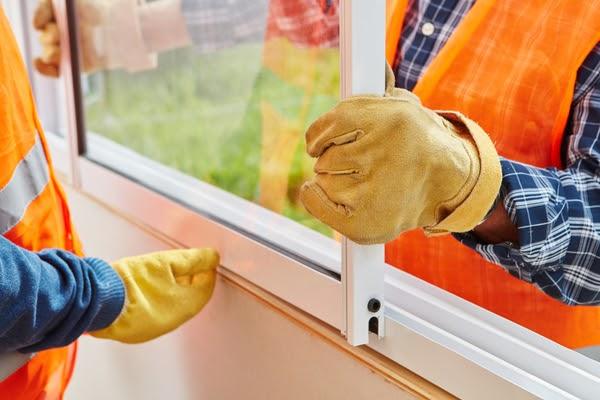 installing window