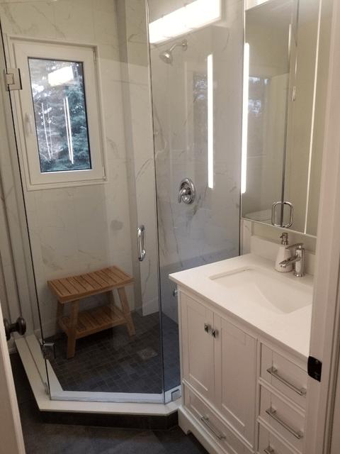 whole bathroom reno