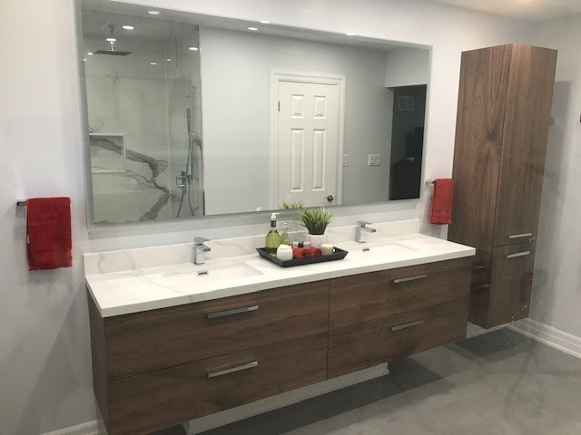 master bathroom renovation home projects