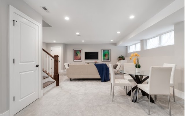 spotless basement apartment