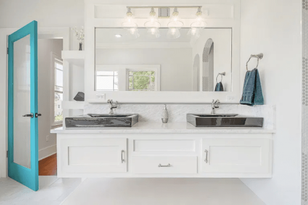 floating bathroom vanity trends