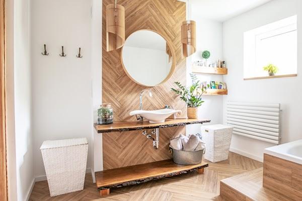 bathroom trends 2021 nature elements