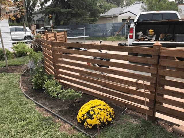 custom neighbour fence