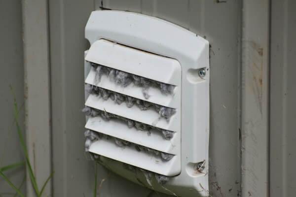 dryer vent close up