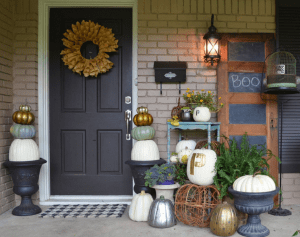 tips for decorating your entryway for fall