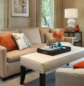 how to use accent furniture to transform a room