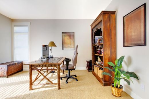 12312480 - tropic style home office with beige