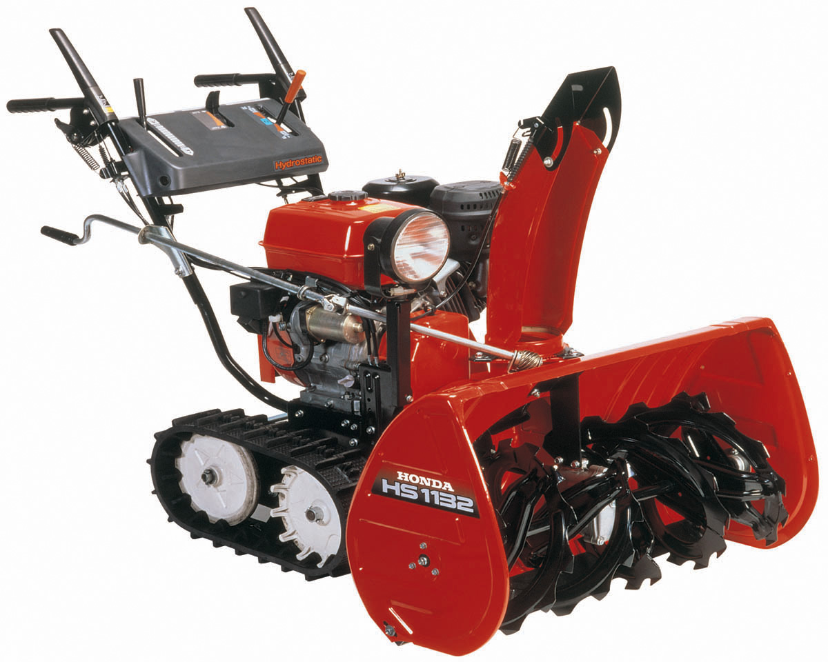 hight resolution of hs928 and 1132 two stage snowblowers