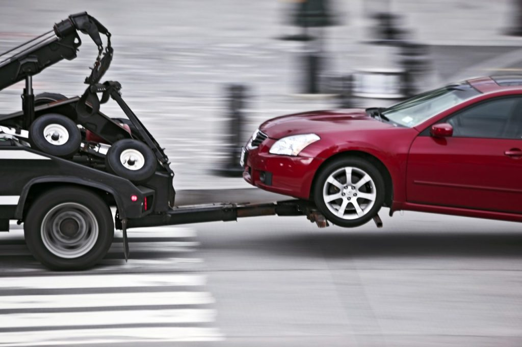 parking tickets gets cars towed but won't go on your record