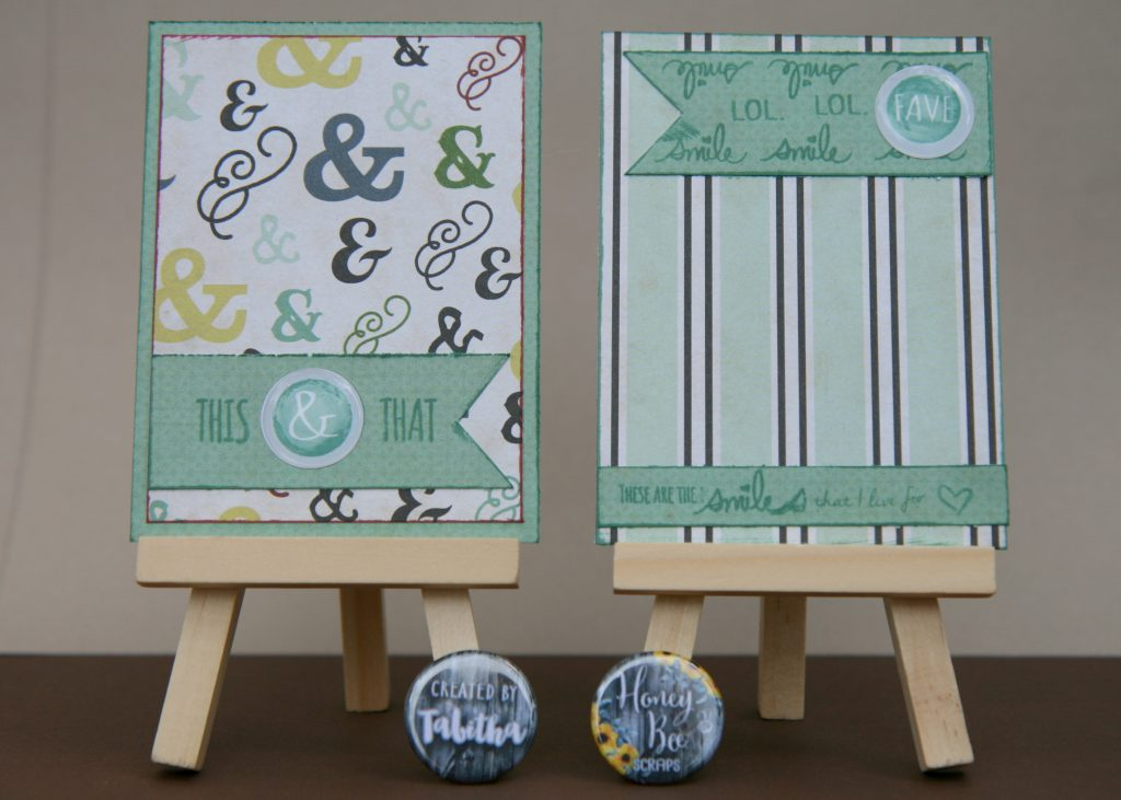 Saturday Stamping with Tabitha: Mini Faux Flair