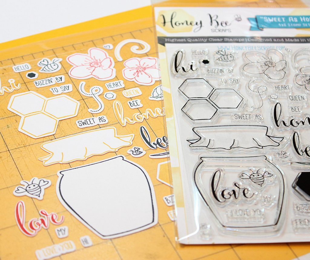 No More Fussy Cutting… Cut and Stamp!