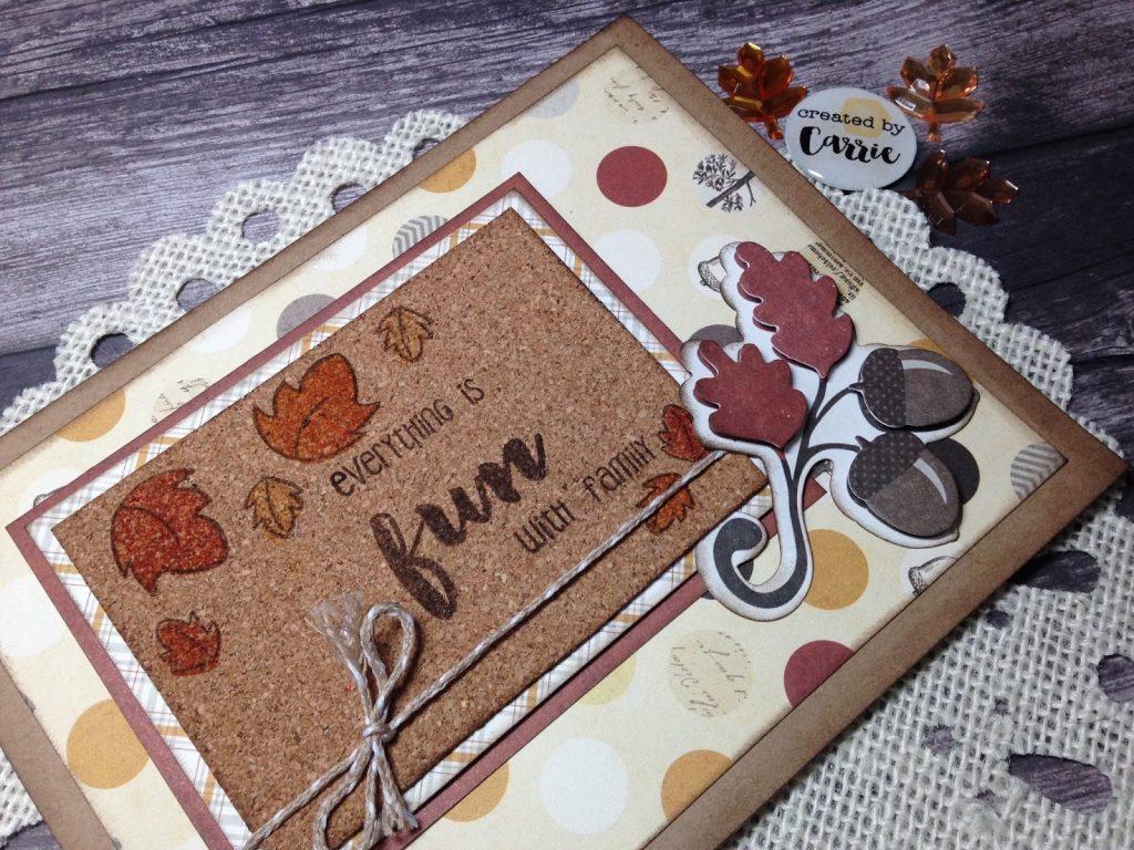 Feels like Fall – Card share