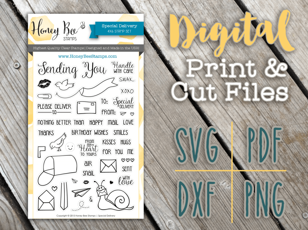 Digital Stamps and Die Cuts… and news!