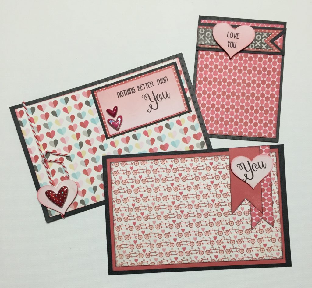 Happy February – Valentine Pocket Page