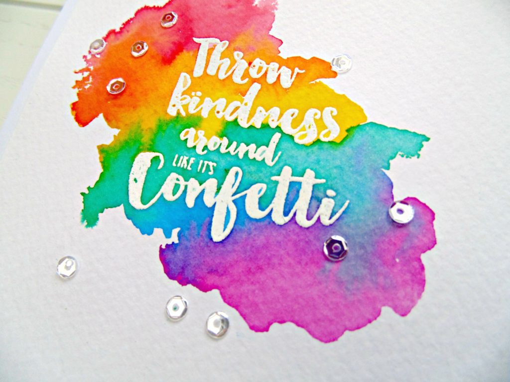 Rainbow Watercolour Wash
