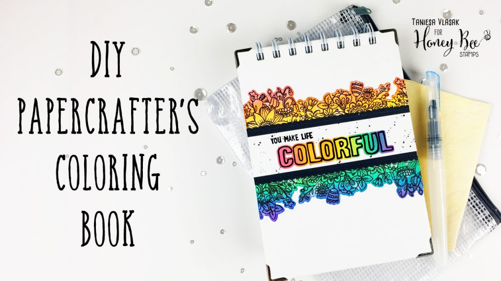 DIY Coloring Book For Cardmakers | Simon Says Stamp STAMPtember feature