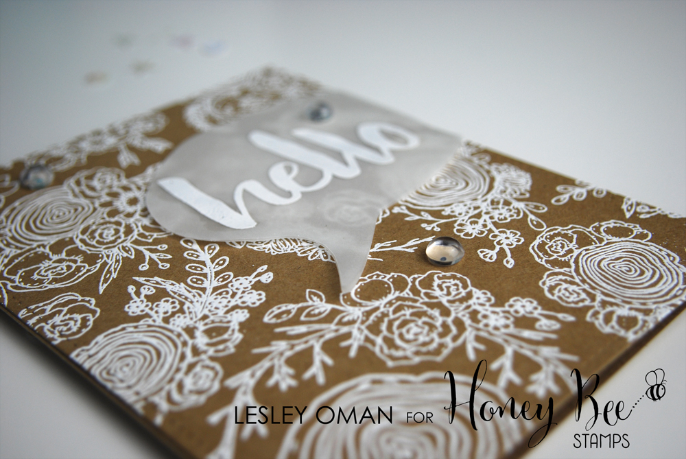 Hello Gorgeous – Letting The Stamps Do All The Work!