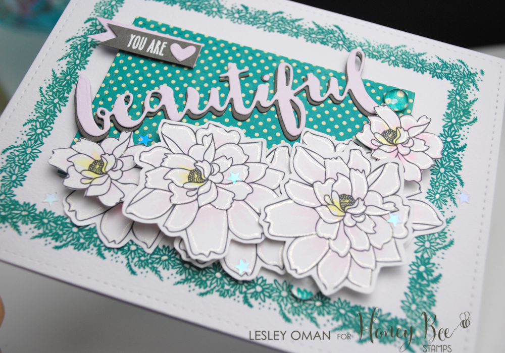 You Are Beautiful – Mixing Stamp Sets