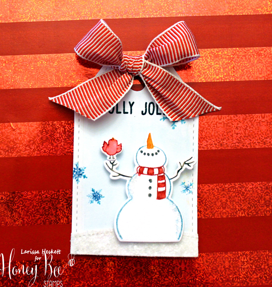 Holly Jolly Gift Tag & Earring Set!!