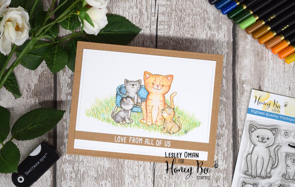 The Daily Marker 30 Day Coloring Challenge – Coloring Pencil Kitties with Lesley Oman
