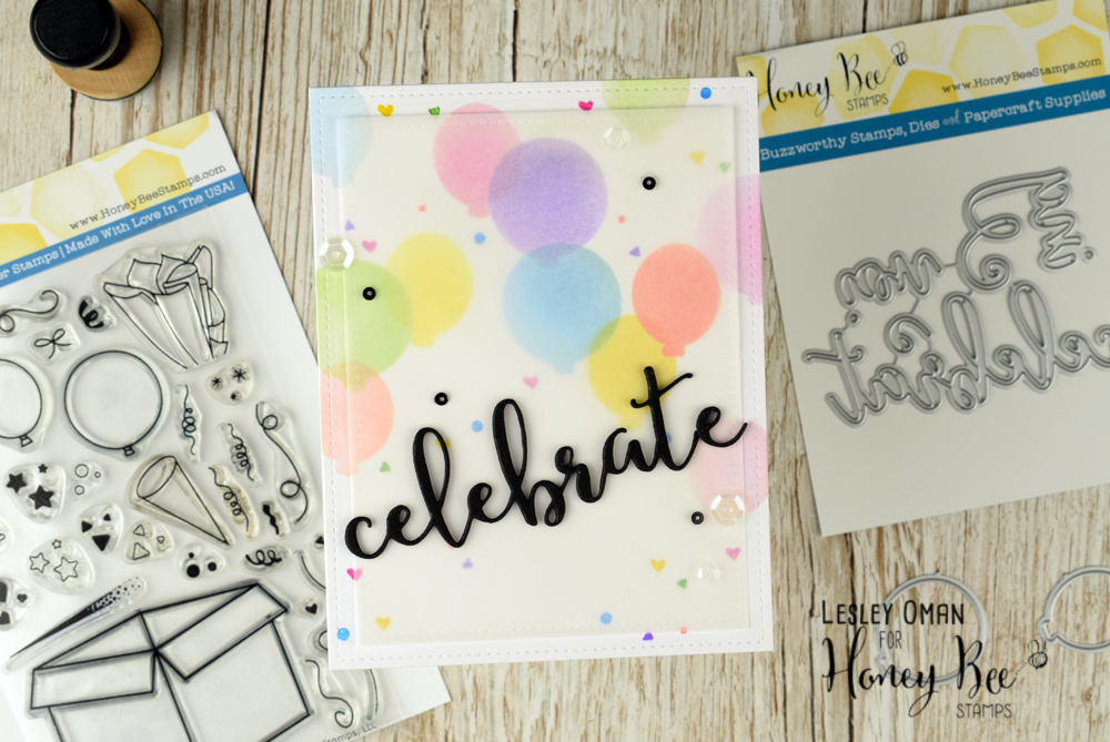 CELEBRATE – Celebrating A Year With Honey Bee Stamps!