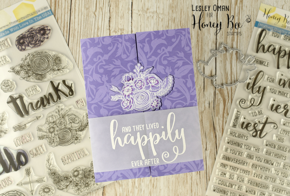 Happily Ever After –  A Simple & Elegant Wedding Card