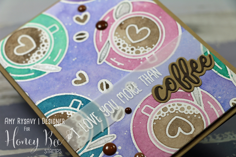 Watercolored Coffee Break Card with Amy Rysavy