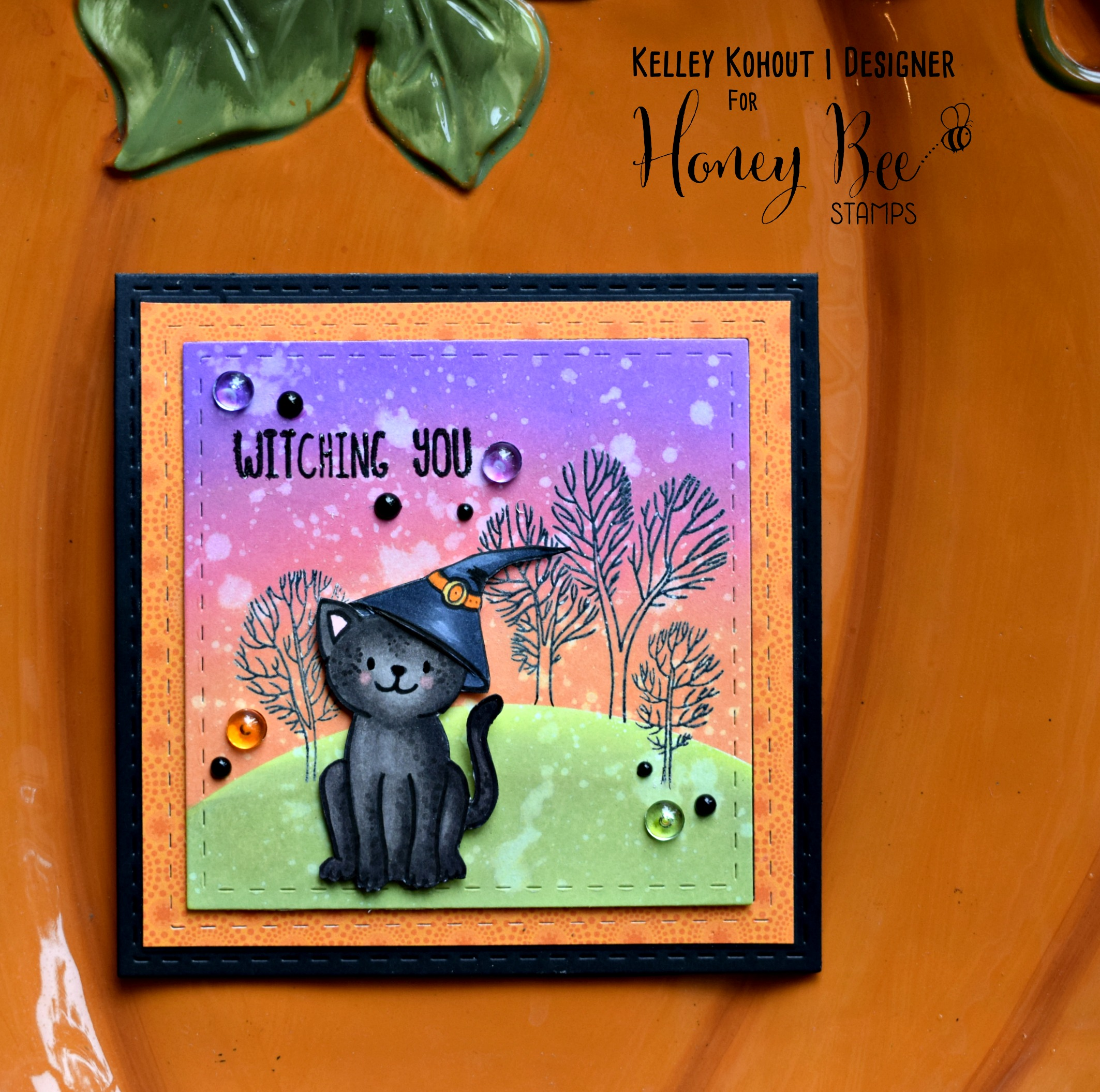 Witching You….A Purrrfect Halloween!