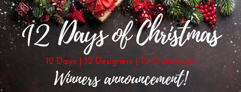 We Have WINNERS!!!! (Twelve Days Winner Announcements!!)